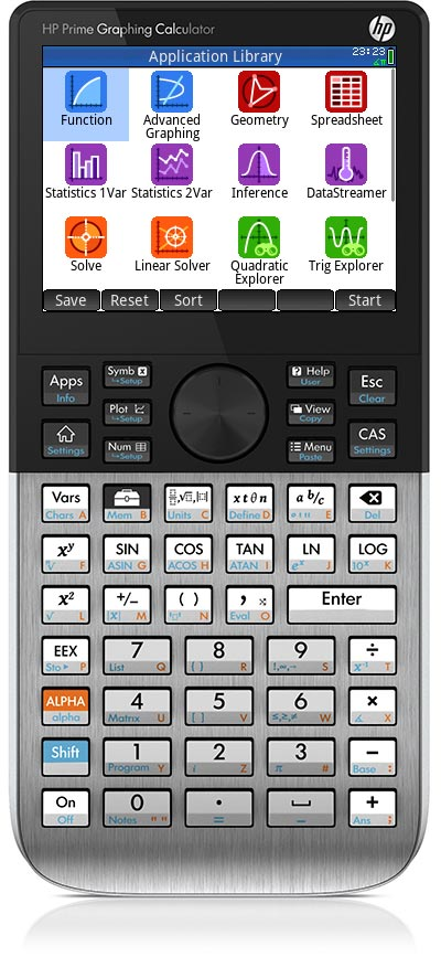 Graphical calculator — HP Prime for All